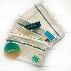 Конопляная сумка-кисет