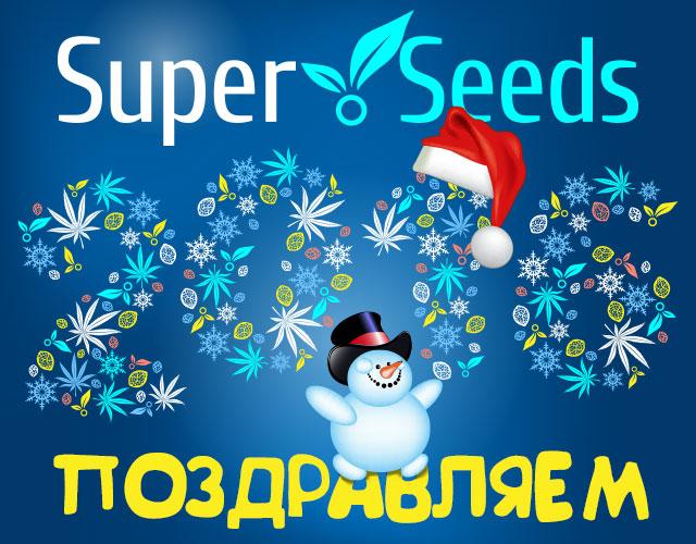 Компания СуперСидс поздравляет с Новым Годом
